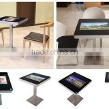Indoor Application and TFT Type 21.5 inch interactive multi touch table/foor standing digital signage