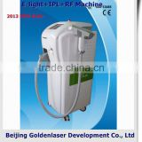 Portable Www.golden-laser.org/2013 New Style E-light+IPL+RF Shrink Trichopore Machine Ftd Beauty Device Salon