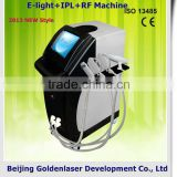 www.golden-laser.org/2013 New style E-light+IPL+RF machine battery elite