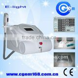 E light (RF & IPL) hair removal & skin rejuvenation pore minimizing machine