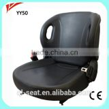 China original Toyota PVC Forklift Seat YY50 with Safety Belt