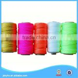 100% luminous nylon rayon embroidery thread