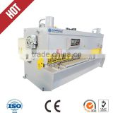 QC11Y 12*3200 harsle brand hydraulic shearing machine with high quality CNC controller system