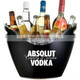 2017 custom made plastic grey goose absolut vodka ice bucket personalized with logo