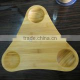 2016 Recycled totally natural bamboo sushi plate