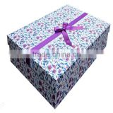 New Collection Italy Design Mermaid Wedding Dress / Bridal Gown custom Packaging Paper Box