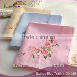 Wholesale high quality embroidered handkerchief