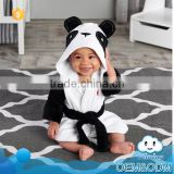 Hot new products panda baby clothes wholesale fashion comfortable kids sleepwear cheap robes