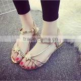 F20015H Rhinestone fashion women sandals flat sandals for ladies pictures