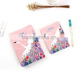 A6 hardcover planner custom section sewing flexible back diary notebook /sketch notepad /memo pad