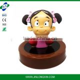 cartoon character figurine plastic bottle cover, personalized candy bottle lid
