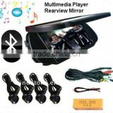 Rearview Mirror Parking Sensor with Bluetooth Handsfree
