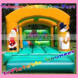 Christams inflatable bounce house for festival