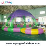 New Design Children Inflatable Swimming Pool with Tent/Hot Sale Kids Inflatable Pool/Outdoor Inflatable Water Pool