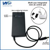 Smallest luminous ups li ion battery backup 7.4v power supply dc home ups kit for voip phone system
