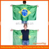 90*150cm World cup Brazil body flag