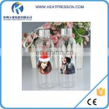 420ml Sublimation Glass Bottle With White Patch
