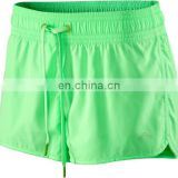 Ladies Custom Polyester Sport Shorts with your logo