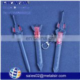 fashion anime keychain, spiderman anime cosplay weapons