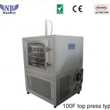 10kg Silicon Heating Fruit Vacuum Freeze Drying Machine