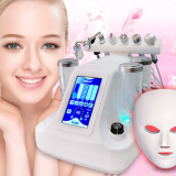 Portable skin care RF skin whitening water inject facial rejuvenation face deep cleaning machine