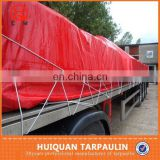 100% new hdpe purple waterproof canvas red tarps for truck cover