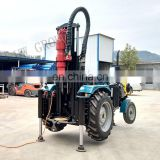 Tractor mounted air compressor bore drilling machine DTH bore well drilling machine price
