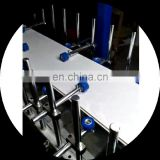 Automatic aluminum profile hot glue wrapping machine for window and door