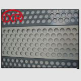 Stainless steel perforated metal sheet mesh 380mm X 300mm 2mm round holes