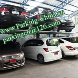 China Car Lifts, Parking lift, Car Elevator, 2 columns 2 floors stacker car lift family double parking