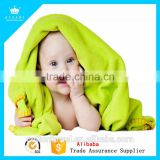 Free Sample Quick-Dry Microfiber Baby Bath Towel With Low Price Low MOQ