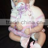 real full body solid silicone baby doll kits reborn