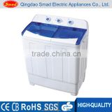 Home appliances manual semi automatic top load two tub washing machine