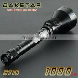 DAKSTAR ST16 XML T6 1000LM 18650 CREE Superbright Rechargeable Police LED Torch Light