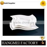 Cheap hand made ceramic plates for banquet                                                                                                         Supplier's Choice