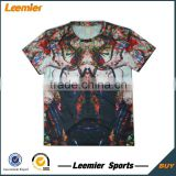 Custom Design Quick Dry Sublimation printing Gym t shirts 2015                                                                         Quality Choice