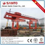 CE/ISO Standard Steel Structure 10Ton Light Mobile Container Crane