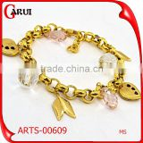 New Gold Chain Design Girls Gold Plated Jewelry Fashion Bracelet