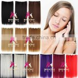 Miss U Hair Good Synthetic Long Straight Clip in hair extension piece accessories for women W006