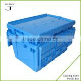 Best selling attached lid plastic container cargo transport plastic box                                                                                                         Supplier's Choice