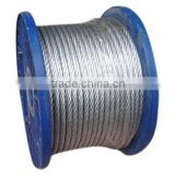 hot dipped galvanized wire strand for Aluminum conductor Steel-Reinforced