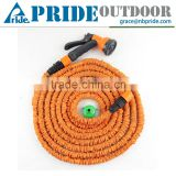 Outdoor Patio Shrinking Elastic Retractable Custom Length Flexible PVC Garden Hose Nozzle