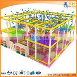 Alibaba good promotion high quality indoor playground for baby entertainment