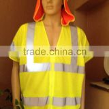 High visibility Reflective vest Safety Vest meet CE EN471 CLASS 2