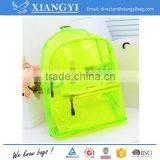 New design wholesale high quality 50C PVC water proof teenage backpack daypack                                                                                                         Supplier's Choice