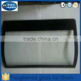 Rectangle shape tempered high resistance sight glass for oven door                                                                         Quality Choice