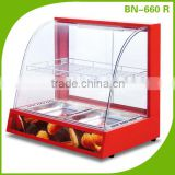 Hot Food Merchandiser Pie Warmer Pizza Heated Display Cabinet, Cases For Pastrys                                                                         Quality Choice
