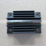 Custom premium clear black anodized aluminum extrusion heatsink EP-089                                                                         Quality Choice