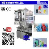 Micmachinery widely used liquid filling machine bottle filling system liquid piston filler