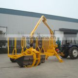 For Mariana Timber Trailer with Crane,Log Trialer with Crane (1 ton,3 ton,5 ton,8 ton,10ton,12 ton) )